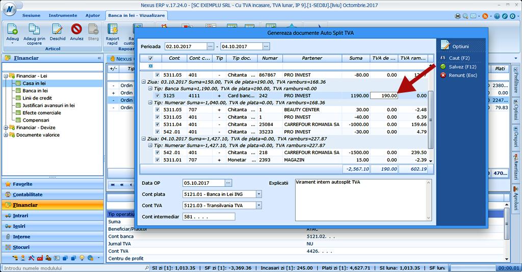 Analitic banca